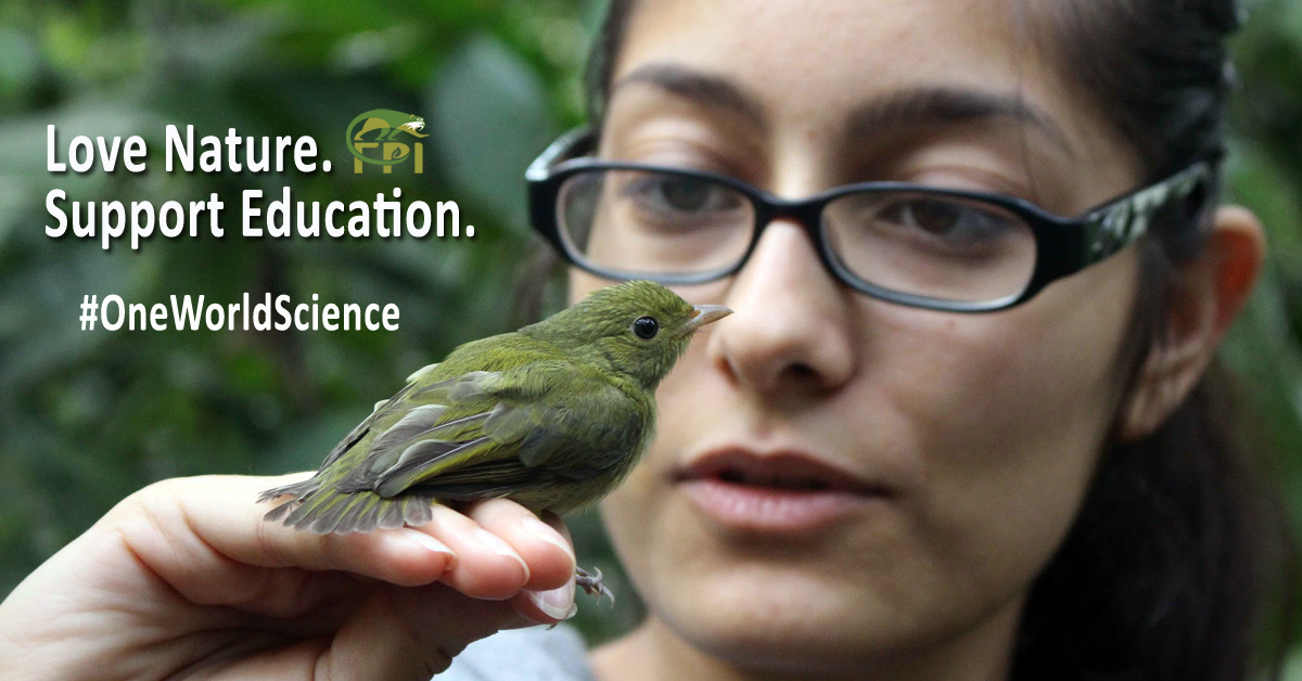Help FPI and support science education for all. #OneWorldScience